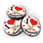 Mini Magnet- I Love Magdeburg 3er Set